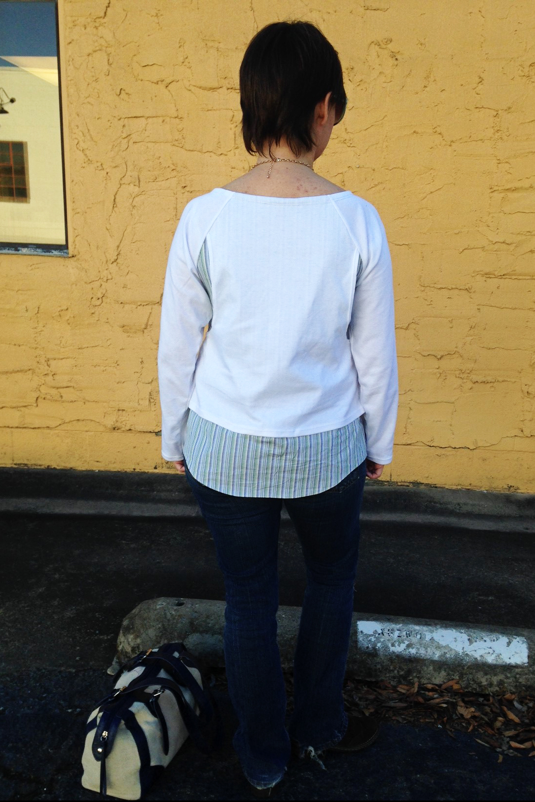 Pattern testing the Paulina by Itch to Stitch