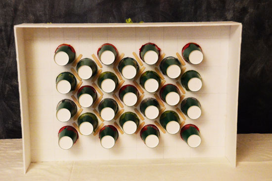 Refillable Punch Board Advent Calendar Tutorial